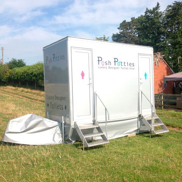 Posh Potties, Posh Polar – mobile toilets and fridge trailers