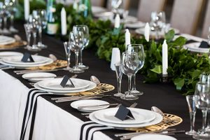 Monochrome Wedding Decor