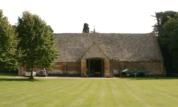 Stanway House Tithe Barn