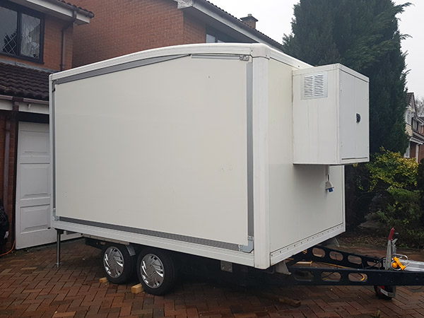 Fridge Trailer Hire | Ice Creations